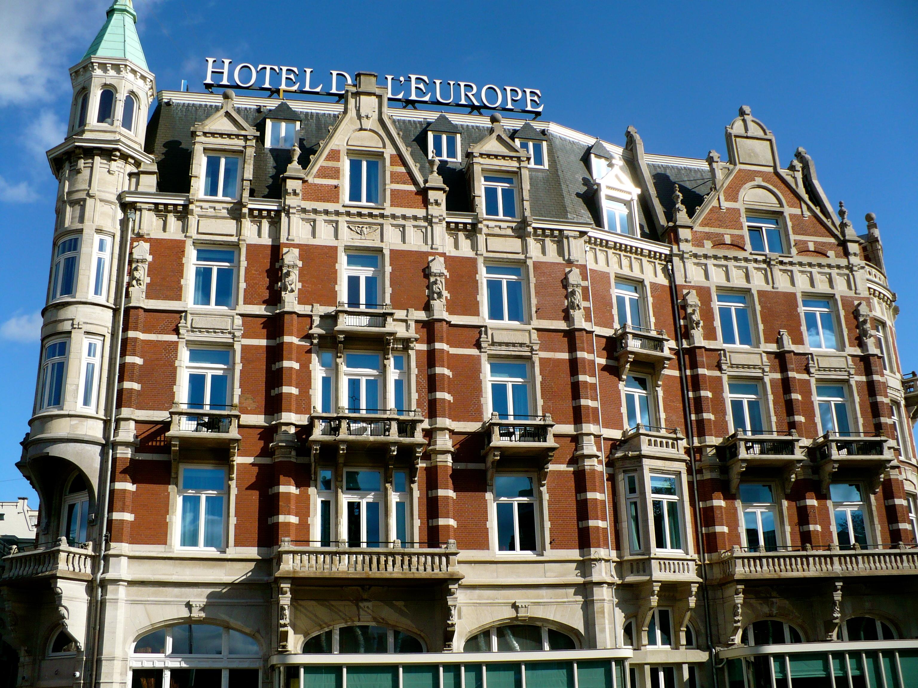 Hotel spotlight hotel de l 39 europe amsterdam stranger for Amsterdam hotel