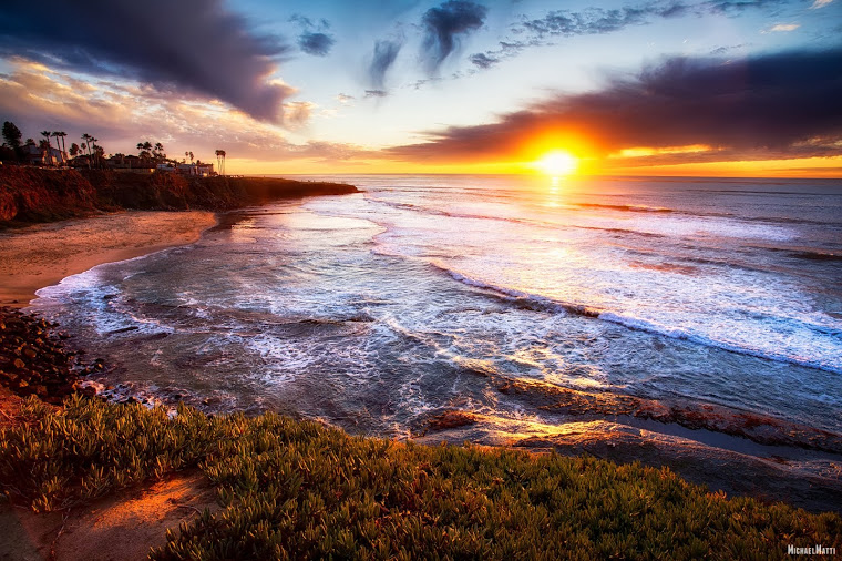 California-Sunset-by-Michael-Matti